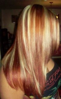 Pictures Of Blonde Hair With Copper Low Lights ...