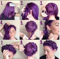 12 Pretty Braided Crown Hairstyle Tutorials and Ideas ...