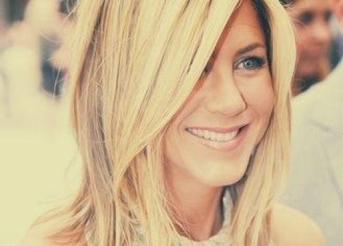 Jennifer Aniston Medium Haircut for Thick Hair