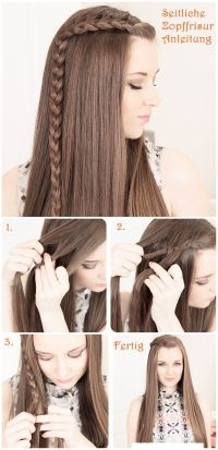 Fashionable Hairstyle Tutorials for Long Thick Hair ...