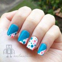 22 Lovely Polka Dot Nail Designs for 2016 - Pretty Designs