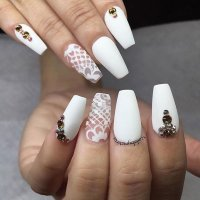 15 Wedding Inspired Nail Ideas You will Like - Pretty Designs