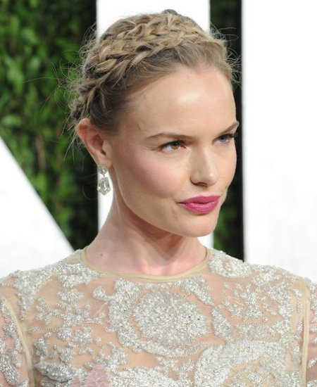 Kate Bosworth Crown Braid via