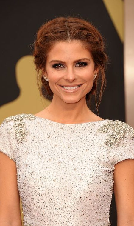 Maria Menounos Crown Braid
