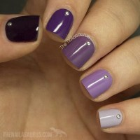 37 Super Easy Nail Design Ideas for Short Nails - Pretty ...