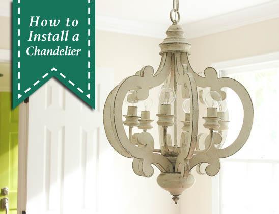 How To Install A Chandelier | Pretty Handy Girl | Bloglovin'
