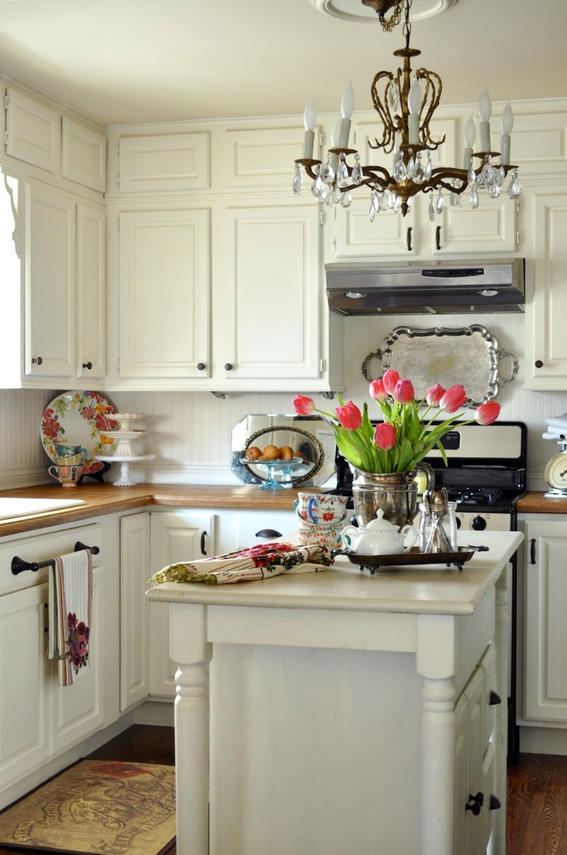 Large Of Country Cottage Kitchen Cabinets