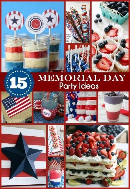 15 Memorial Day Party Ideas