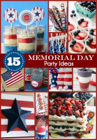 15 Memorial Day Party Ideas