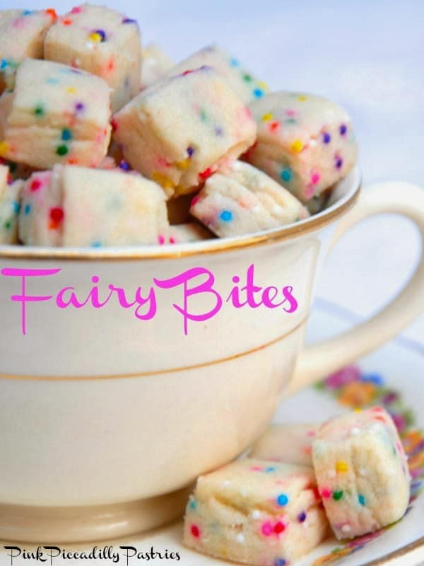 Fairy Cookie Bites Toddler Birthday Party Finger Foods Pretty My Party