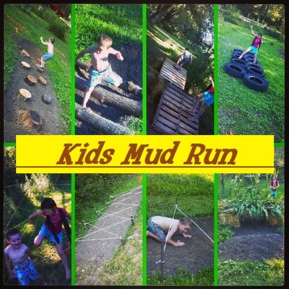 Kids Mud Run, 25 Best Backyard Birthday Bash Games