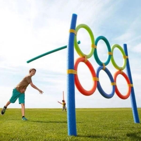 Pool Noodle Olympics Backyard Games, 25 Best Backyard Birthday Bash Games