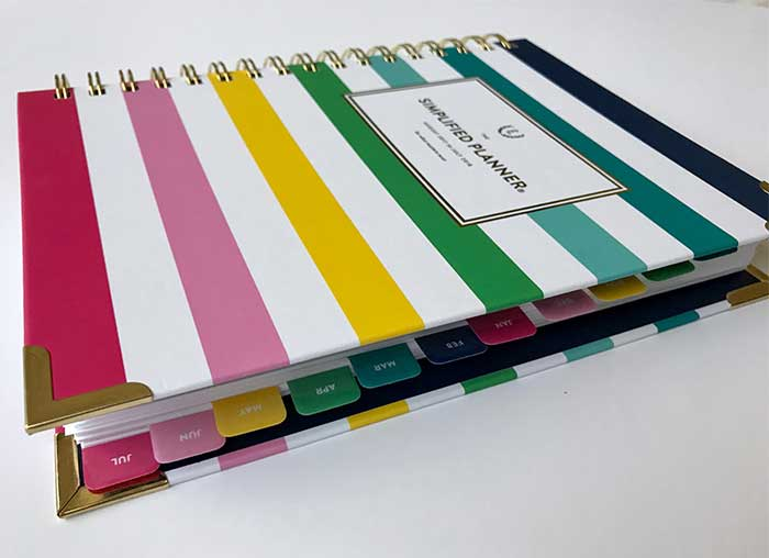 Planner Review Simplified Planner 2018 - Pretty Neat Living