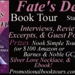 Fate&#8217;s Design Book Tour: Win a Nook or $100 Amazon or BN GC!