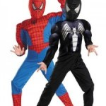 Reversible Spiderman Costume for the Kid That Can&#8217;t Decide!