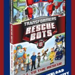 Transformers Rescue Bots Activity Sheets and Character Profiles