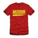 "Loving my ""Bazinga!"" Shirt from Five Finger Tees!"