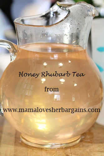 Honey Rhubarb Iced Tea recipe