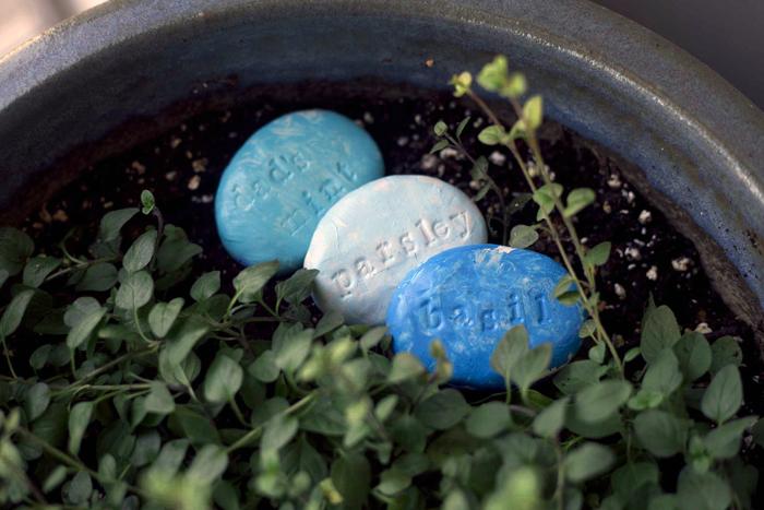 diy polymer garden stones