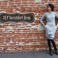 Hot Mess Sweatshirt Dress