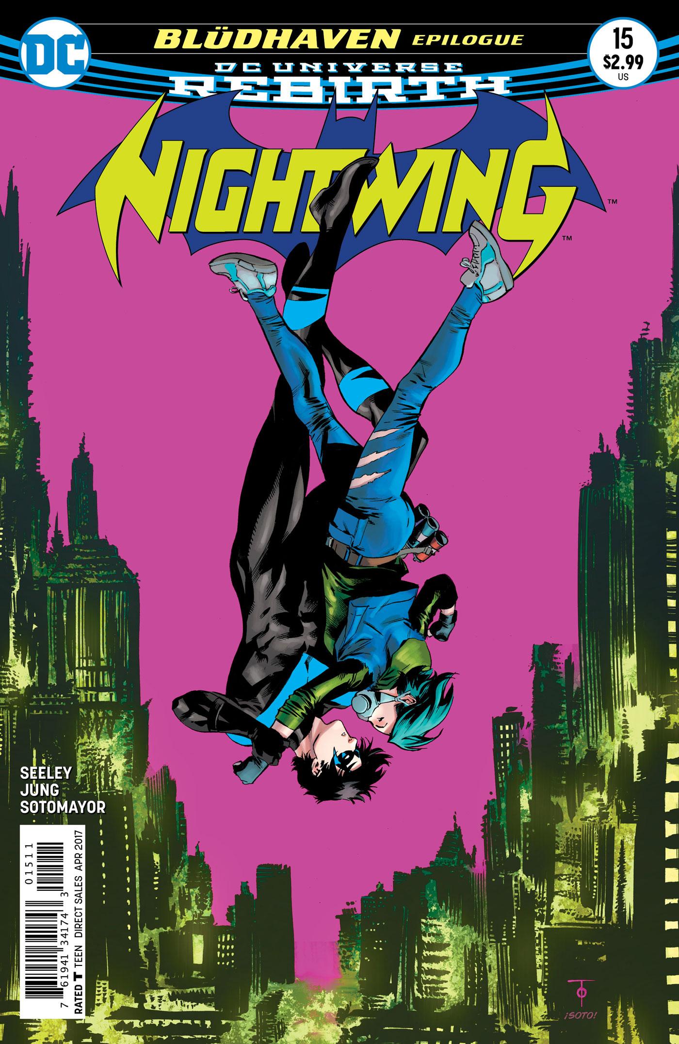 Marvel Power Girl Wallpaper Dec160305 Nightwing 15 Previews World