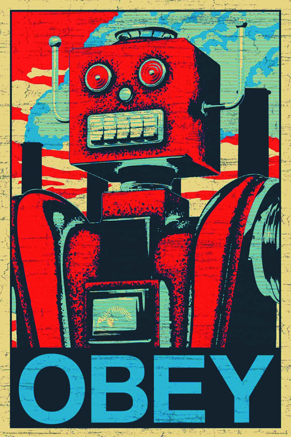 Kanye West Iphone Wallpaper Previewsworld Robot Obey Wall Poster C 1 1 2