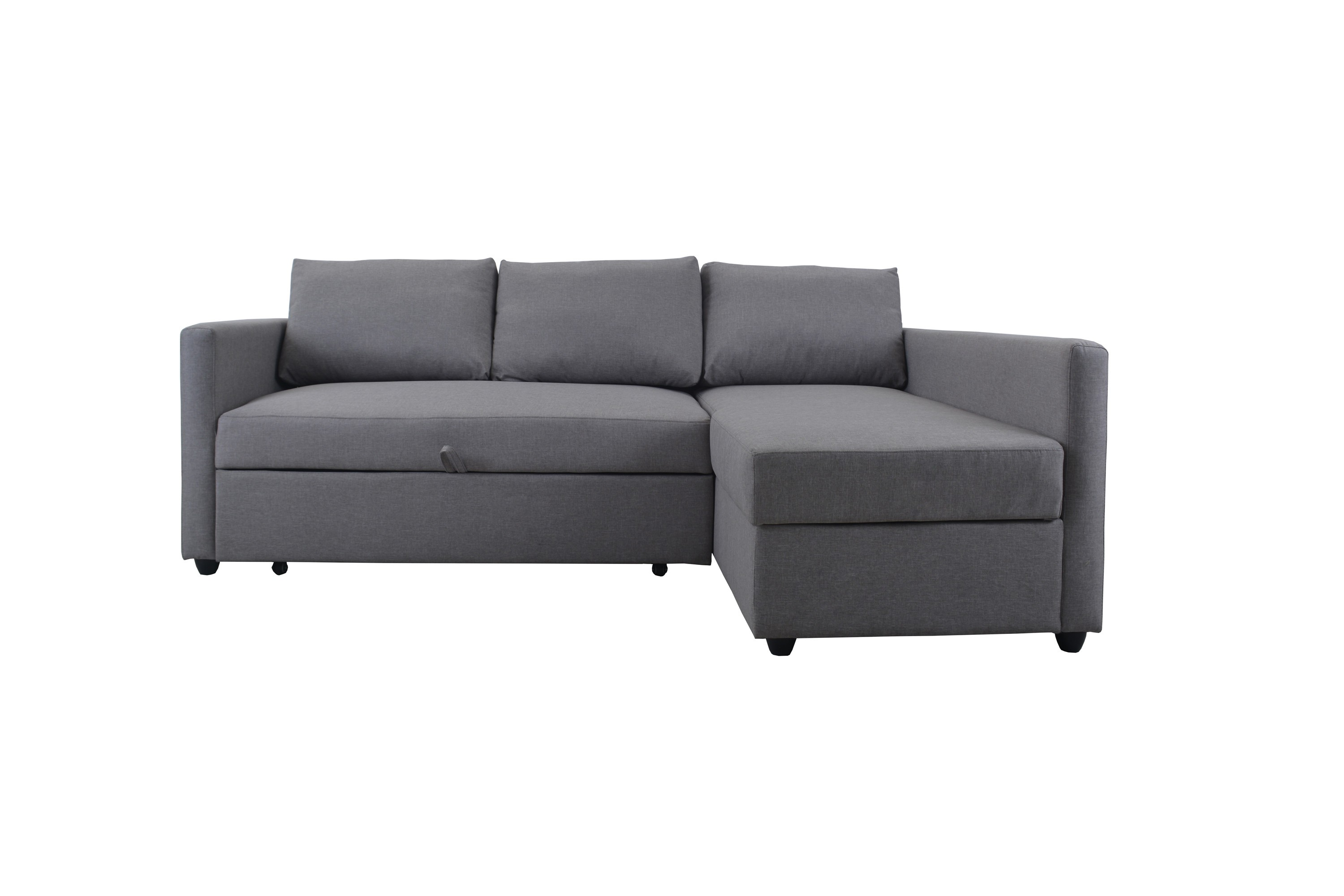 Modular 3 Seater Sofa Bed With Storage Chaise Australian