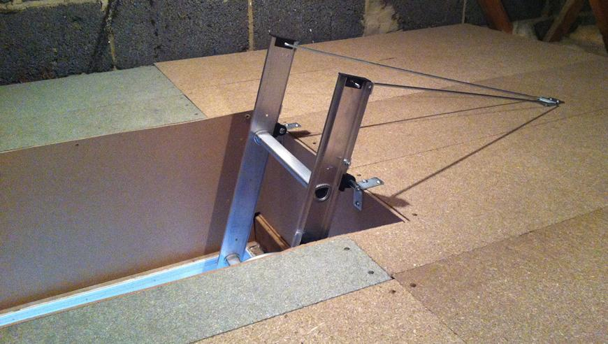Install A Loft Ladder Hatch Labour Material Costs