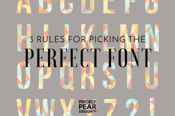 Picking the Perfect Font – Your Font Says a Lot More Than Just the Words You Type