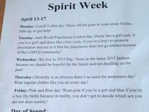 Ohio High School Students Respond to Day of Silence with Hateful