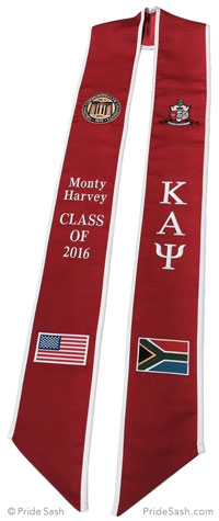 Custom Graduation Sashes by Pride Sash - Personalize your ...