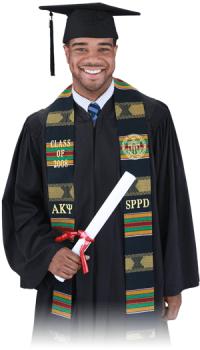 Pride Sash Graduation Stoles - Custom Kente & Ethnic Stoles