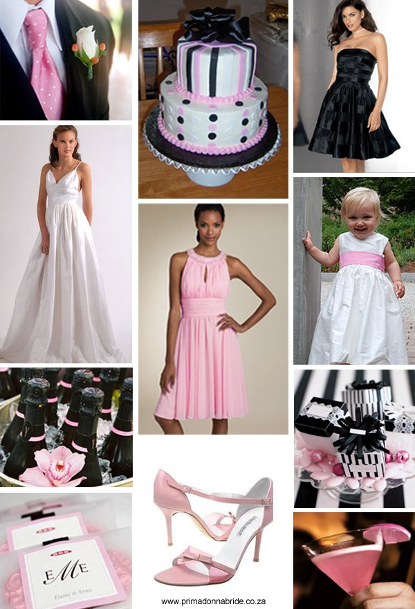 Turil\u0027s blog My cousin is getting married and she has selected hot - pink black and white weddings