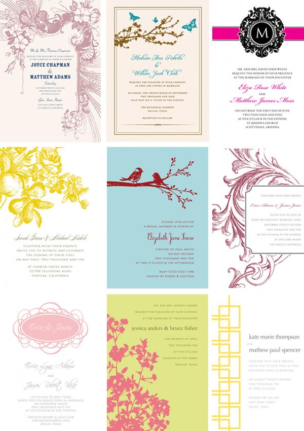 Primadonna Bride - South African Wedding Blog - brides invitation templates