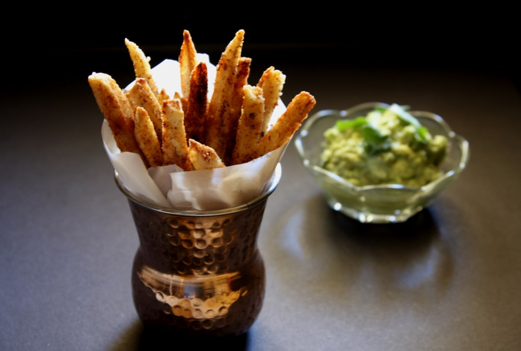 Blackened Yuca Fries (Paleo / gluten free)