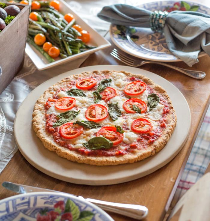 Paleo Margherita Pizza