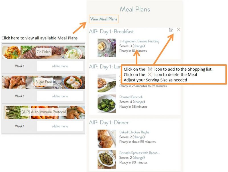 Free Online Paleo Meal Planner and Shopping List Generator - Primal - online menu planner free