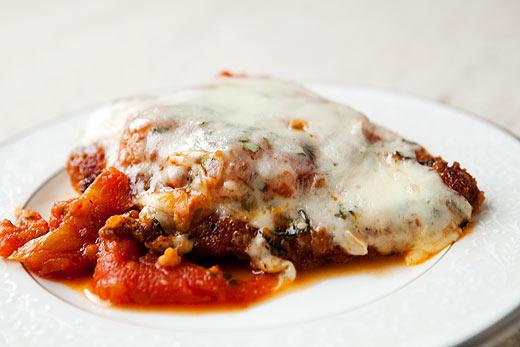 Paleo Homemade Chicken Parmigiana