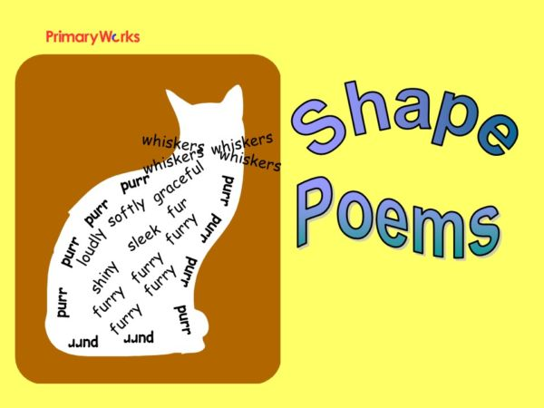 download powerpoint shape poem for ks1 or ks2 literacy lesson kids - poetry powerpoint