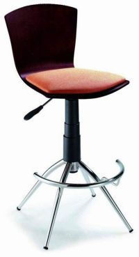 Comfy Bar Stool with 2 Color Options Prime Classic Design ...