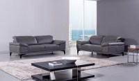 Contemporary Genuine Leather Living Room Set Baltimore ...