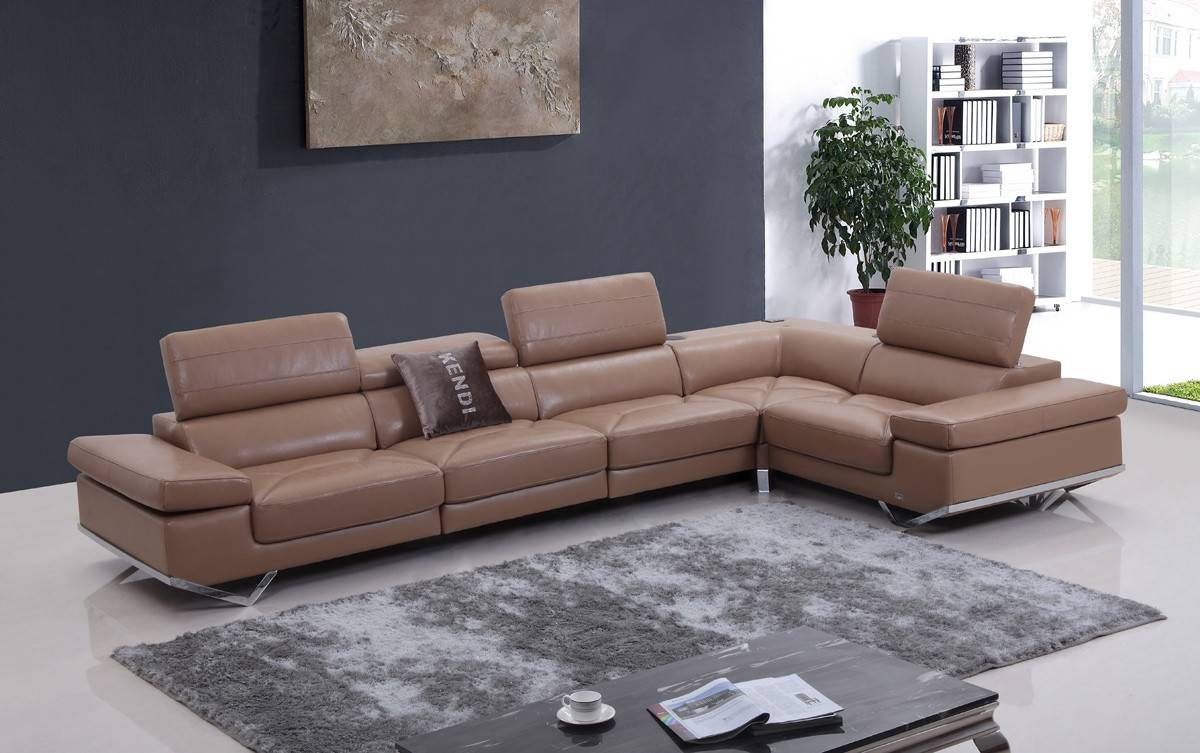 High quality leather sectional sofas - Leather Sofas High Quality High Quality Leather Sofa Hancock Ebay Contemporary Style Tufted Leather Corner Sectional