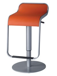 Contemporary Bar Stool with Hydraulic Lever 2 Colors ...