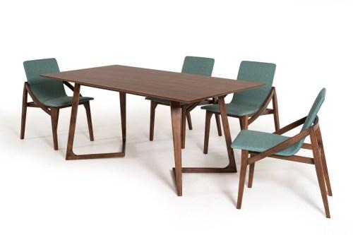 Mutable Sets Chairs Scandinavian Style Walnut Set San Francisco Walnut Table Houzz Walnut Table Set