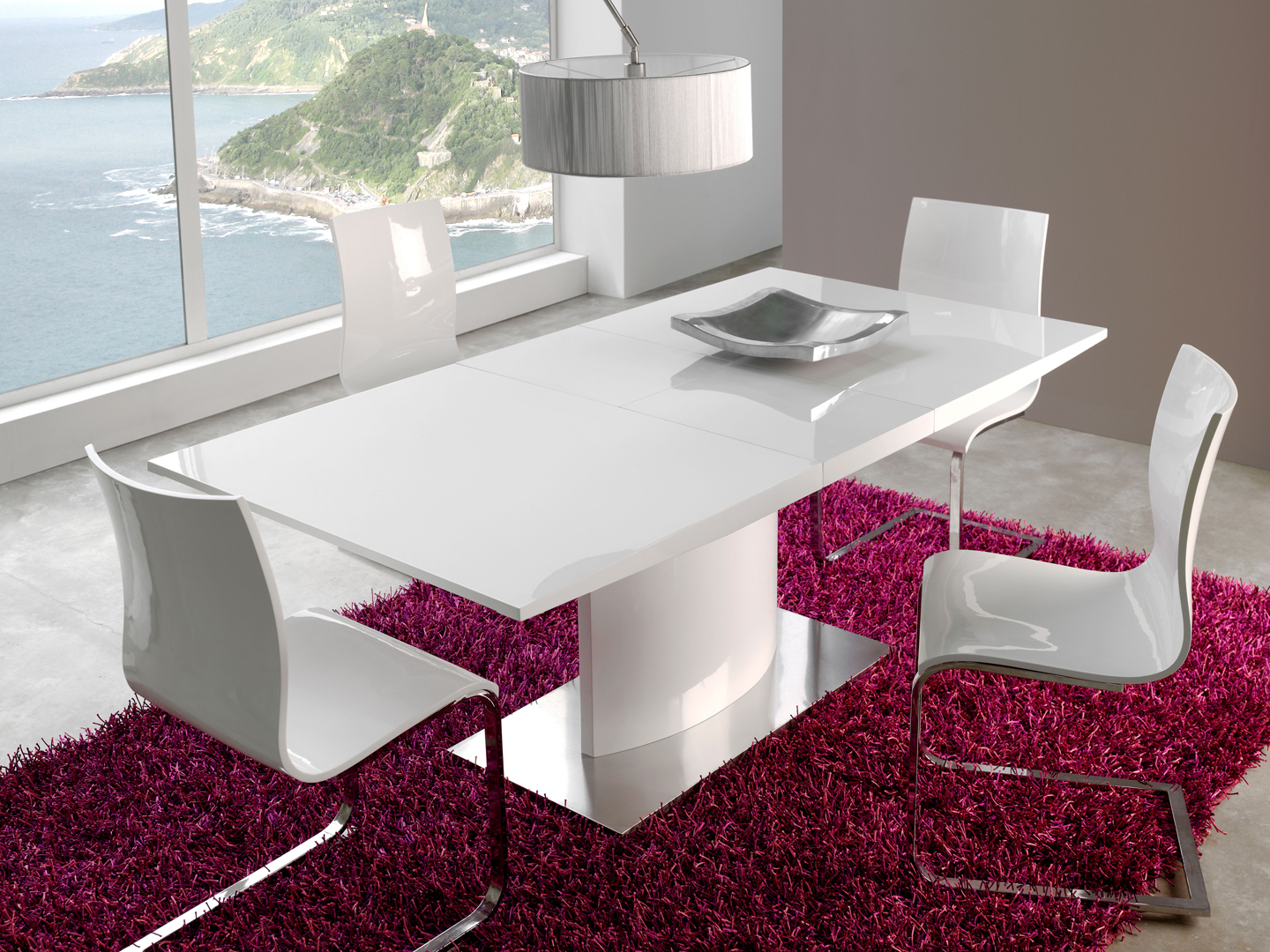 white kitchen table modern modern kitchen tables Dining Table White White Dining Room Furniture Modern Design The Modern white dining room sets