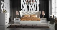 Stylish Leather Luxury Bedroom Furniture Sets Charlotte ...