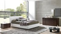 Made in Italy Leather High End Bedroom Furniture Sets with ...