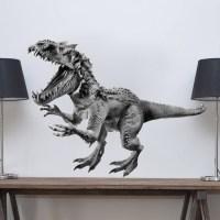 Horned Dinosaur Decal - Animals Wall Decal Murals ...