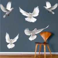 Dove Birds Wall Decal Murals - Bird Decals - Primedecals