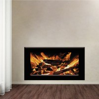Fake Fireplace Wall - Small House Interior Design